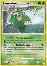POKEMON, Burmadame, Diamant & Perl, Rätselhafte Wunder, 41/132, Deutsch, NM