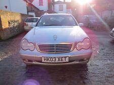 Mercedes C180 Kompressor Elegance C Class Estate Car 2003 Petrol Leather Seats