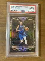 2018-19 Chronicles Obsidian Preview LUKA DONCIC Rookie Card #571 GEM MINT PSA 10