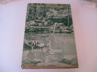 Secrets of Japanese Gardening Magic of Trees and Stones Vintage Flower Art 1970