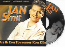 JAN SMIT - Als ik een tovenaar kon zijn CD SINGLE 2TR Enh Dutch Cardsleeve 2002