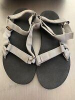 TEVA Womens Original Universal Azura Light Grey Sport Trail Sandals US 11