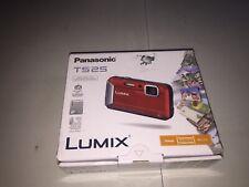 Panasonic LUMIX DMC-TS25 16.1MP Digital Camera - Orange