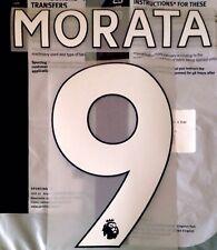 Chelsea Home & Third Shirt 2017-18 MORATA#9 PS-Pro SportingiD Name & Number Set