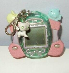 2007 Littlest Pet Shop Digital Pets Care For Me Virtual Game Siamese Cat-LPS