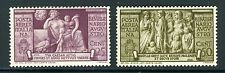 Italy, Scott #C95-96,  2000th Anniv. Birth of Augustus, 1937, Mint Hinged