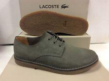 Lacoste Bradshaw 116 Suedette Khaki Men's Sneakers Shoes, Size UK 8 / EU 42