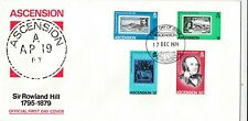 Ascension 1979 Sir Rowland Hill FDC Special Cancel Unaddressed VGC