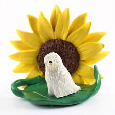 Komondor Sunflower Figurine