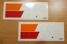 K&N, K und N, Logo, Aufkleber, Kleber, Sticker, Tuning (2 Stück)