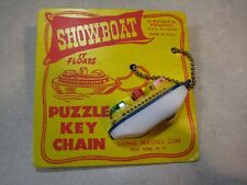Keychain Puzzle - Lional Showboat Puzzle Made in Usa