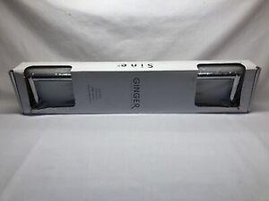 "Ginger - Sine Series 18"" Towel Holder Silver Polished Chrome- 0202/PC- BRAND NEW"