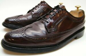 MENS FLORSHEIM 97626 SHELL CORDOVAN LONGWING TIP OXFORD DRESS SHOES 11.5~1/2 A