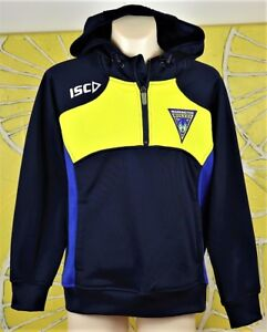 WARRINGTON WOLVES TECH HOODY kids size 10 new with tags