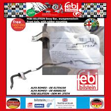 ALFA ROMEO 147 156 GT JTD JTS Front Suspension Torsion ANTI ROLL Bar Kit