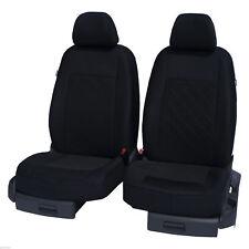 Vordersitzbezüge Sitzbezüge Schonbezüge Schwarz Universal passend für HYUNDAI