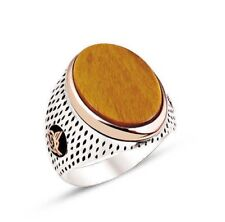 Sterling Silver Mens Ring, Turkish Handmade Jewelry 925 Sterling silver ring