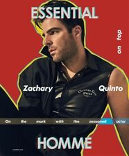 ESSENTIAL HOMME MAGAZINE SUMMER 2018 ZACHARY QUINTO BOYS IN THE BAND BRAND NEW
