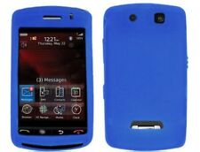 Silicone Skin Case Blue For BlackBerry Storm 9530 9500