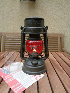 Feuerhand 276, Petroleumlampe, Öllampe, Jenaer Glas, Laterne + Ersatzglas