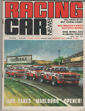 Racing Car News 1974 Apr Elfin MR6 Torana XU1 Brock Bond Mighty Holden Monaro Ja