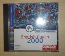 PC CD English Coach 2000 6.Klasse Englisch lernen Cornelsen Lernsoftware *neuw.*