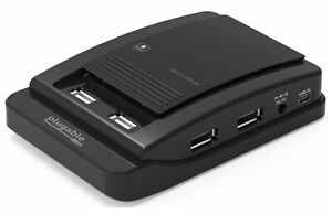 Plugable USB 2.0 7-Port High Speed Hub with 15W Power Adapter