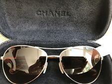 CHANEL AUTHENTIC Sunglasses Aviator Pilot 4201 c.395/3B NEW(other) $380