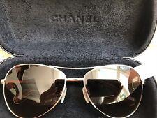 CHANEL AUTHENTIC Sunglasses Aviator Pilot 4201 c.395/3B NEW(other) $380
