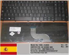 Clavier Qwerty Espagnol ACER TM8571 AS5741G  NSK-AU00S 9Z.N3M82.00S KB.I170A.105