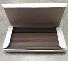 "18-Gauge 3/8"" Inch Brad Nails, Box of 5000 New galvanized chisel point hardwoods"