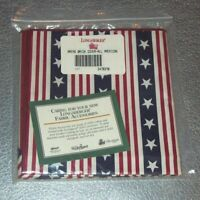 Longaberger All American Stars & Stripes BREAD BRICK COVER ~ Brand New in Bag!