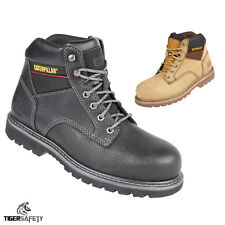 Caterpillar CAT Tracker SB SRC Mens Steel Toe Cap Safety Boots Work Boot PPE