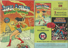 BD - SUPER ACTION AVEC WONDER WOMAN N° 2 ( AREDIT ) / BON ETAT