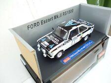 Sun star 1/18 Scale Diecast - 4431 Ford Escort MK2 RS1800 RAC Lombard Rally  Box
