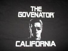 "ARNOLD SCHWARZENEGGER ""THE GOVENATOR - CALIFORNIA"" (XL) T-Shirt"