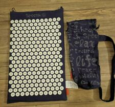 """Spoonk Space Acupuncture Message Mat 26""""x 16"""" With Carry Bag"""