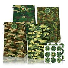 Camouflage Leopard Print Dinosaur Kraft Paper Gift Bag Gift Packaging Supplies