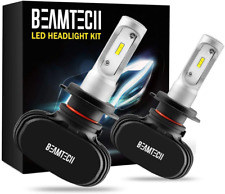 BEAMTECH H7 LED Headlight Bulbs,CSP Chips Headlamp 50W 6500K 8000Lumens Car  Lig