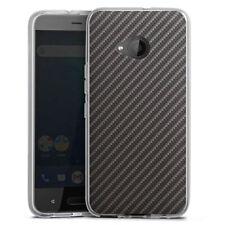 HTC U11 Life Silikon Hülle Case - Carbon