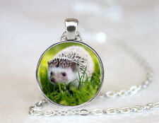 Hedgehog Pendant Necklace Statement Unique Necklace Jewelry