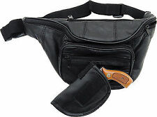 Embassy Leather Gun Holder Belt Bag LULGH2