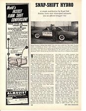1962 ACE WILSON'S ROYAL PONTIAC / THREE-SPEED HYDROMATIC ~ ORIG 2-PAGE ARTICLE