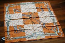 NWT 100% Authentic Longchamp Big Silk Scarf Made in Italy