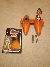 More details for bespin twin pod cloud car ship (esb)  plus both pilots. (rare)