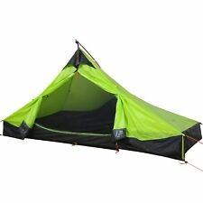 WolfWise Tente de Camping à 1 Personne 3 Saison Ultra Légère Imperméable Vert