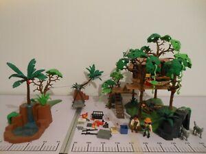 Playmobil Dschungel Baumhaus