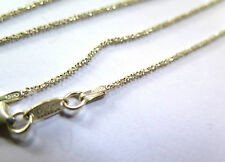 EXCELLENT SOLID .925 STERLING SILVER  CHAIN NECKLACE KETTE 43cm
