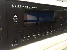 Kurzweil k2500r sintetizadores +3 Roma boards, + oled display, impecable, + sonidos