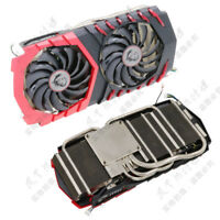 Msi GTX1070 GAMING Radiator Cooling Fan Assembly Compatible with GTX1060 GAMING